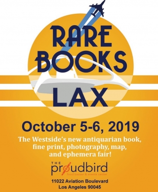 Rare Books LA at Proud Bird LAX