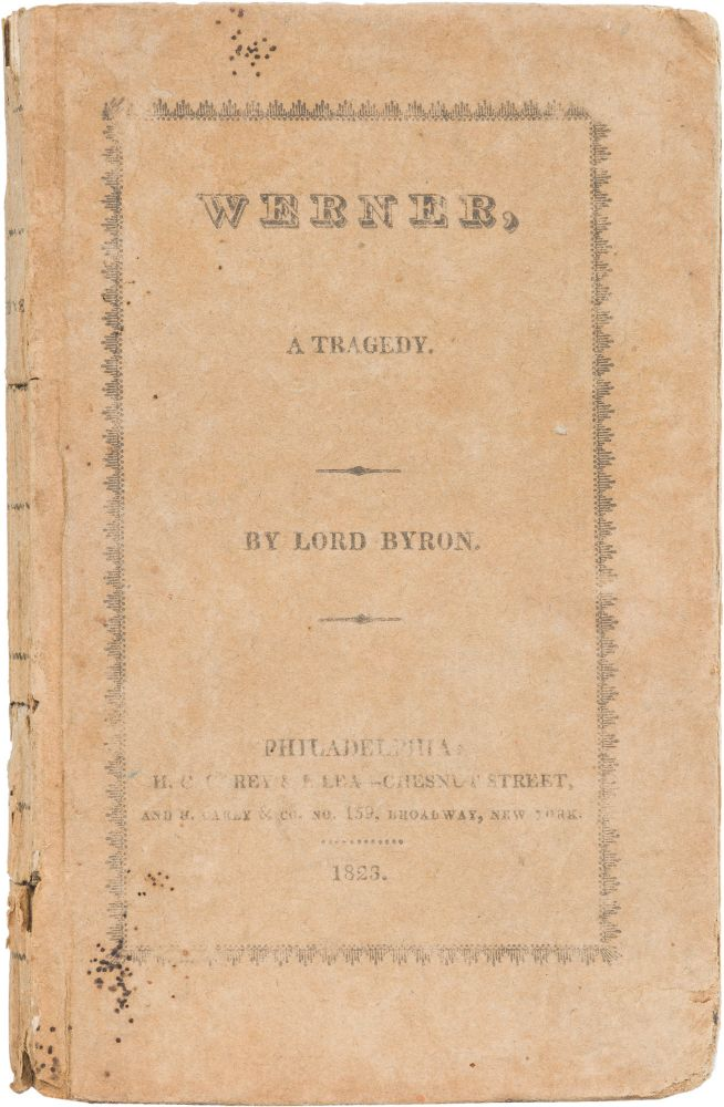 Werner. George Gordon Byron, Lord.