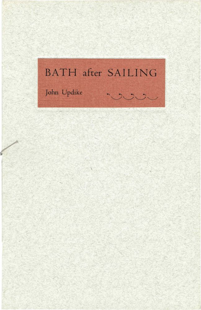 Bath After Sailing. John Updike.