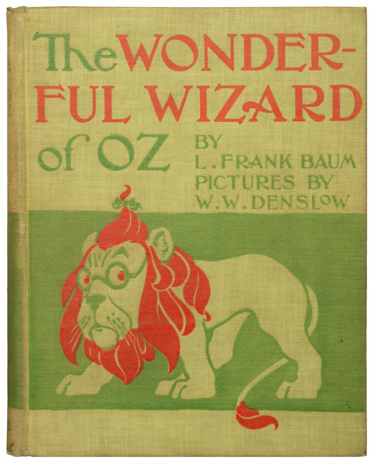 The Wonderful Wizard of Oz. L. Frank Baum.