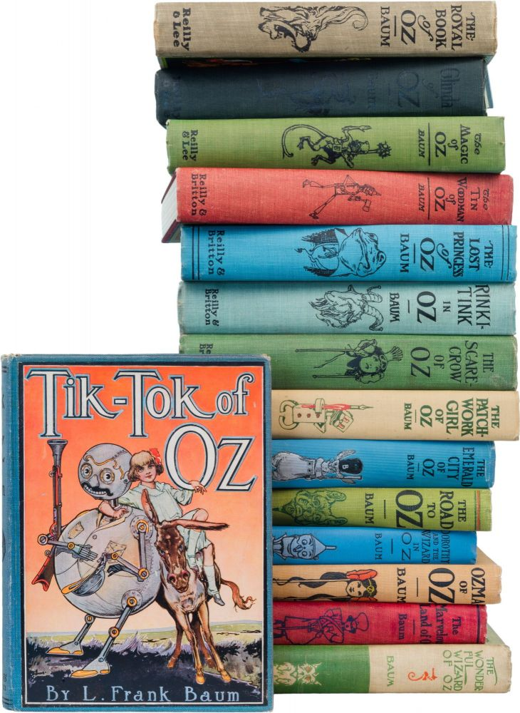 A Complete Collection of the Baum Oz Books. L. Frank Baum.