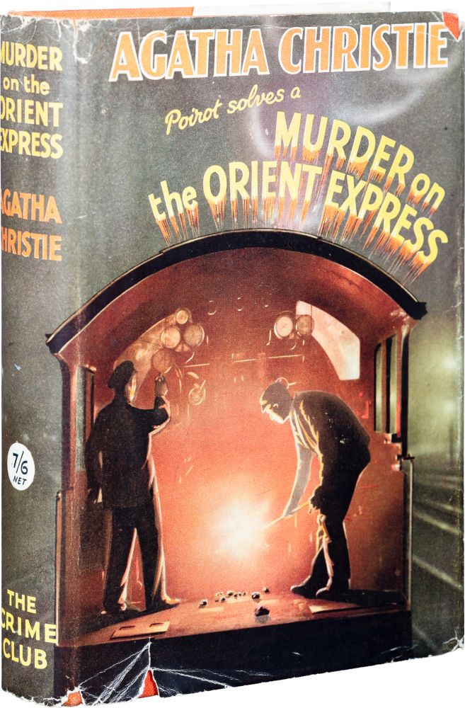 Murder on the Orient Express. Agatha Christie.