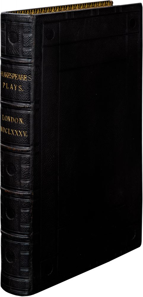 Comedies, Histories, and Tragedies. Published according to the true Original Copies. Unto which is added seven plays never before printed in folio.; Fourth Folio. William Shakespeare.