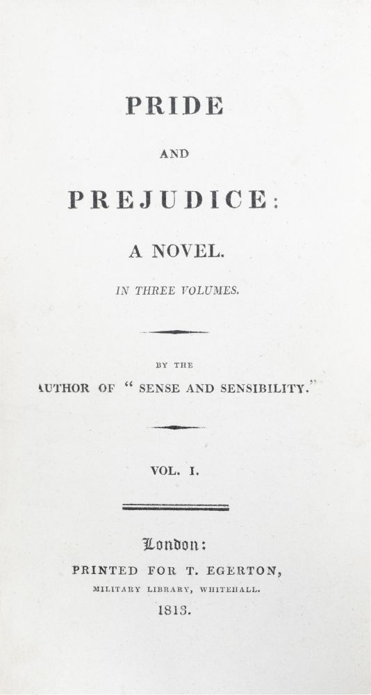 Pride and Prejudice. Jane Austen.