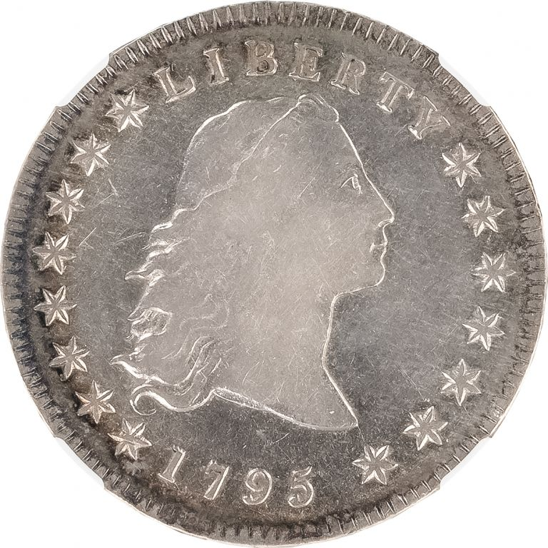 United States Flowing Hair Dollar. U. S. Mint Coinage.