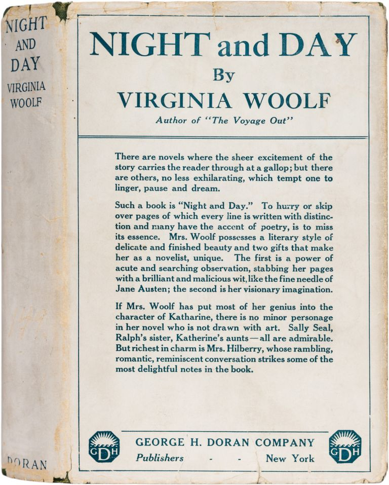 Night and Day. Virginia Woolf.