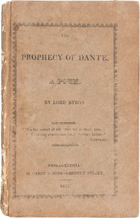 The Prophecy of Dante. George Gordon Byron, Lord.