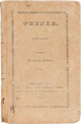Werner. George Gordon Byron, Lord