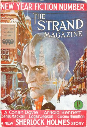 Complete Run of the Sherlock Holmes Stories, As Well as 2 Complete Novels, in the Individual Strand Magazines
