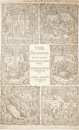 The Decameron; Containing An Hundred Pleasant Novels. Giovanni Boccaccio