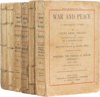 War and Peace. Leon Tolstoy