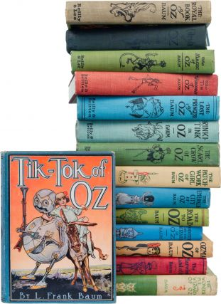 A Complete Collection of the Baum Oz Books. L. Frank Baum