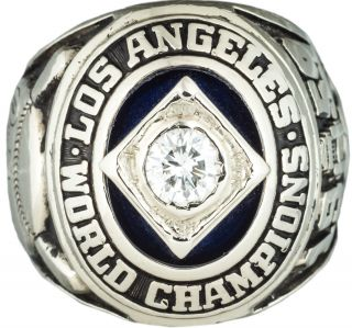 1959 L. A. Dodgers World Championship Ring. Baseball