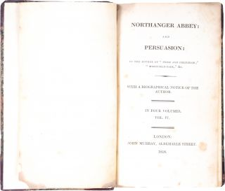 Northanger Abbey [and] Persuasion