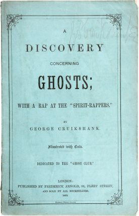 A Discovery Concerning Ghosts. George Cruikshank