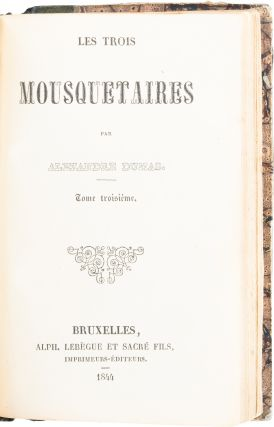 Les Trois Mousquetaires; [The Three Musketeers]