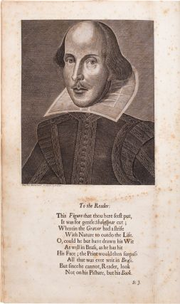 Comedies, Histories, and Tragedies. Published according to the true Original Copies. Unto which is added seven plays never before printed in folio.; Fourth Folio